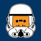 Cassette Trooper - Orange by cudatron
