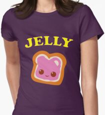 Couple - (Peanut Butter &) Jelly Women's Fitted T-Shirt
