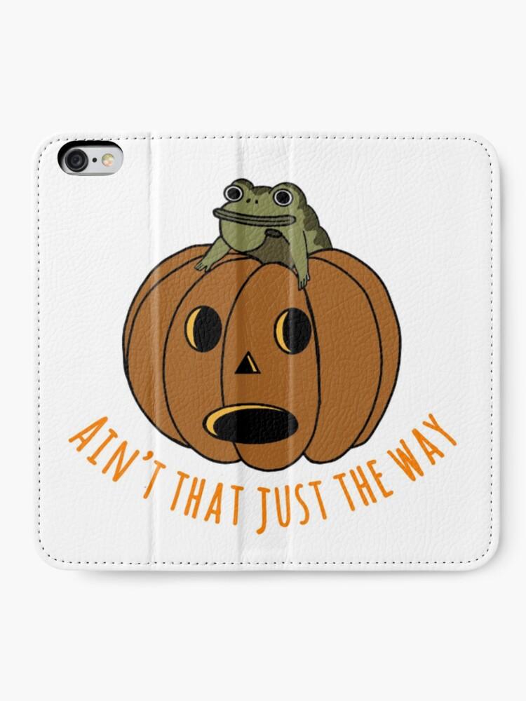 Alternate view of Jason thunderburker and potsfield pumpkin iPhone Wallet