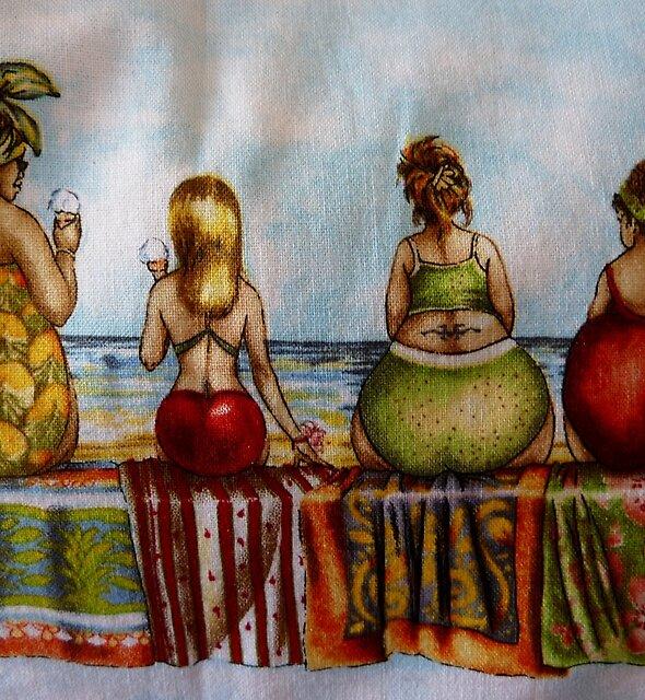 My sisters apron - Christmas Tasmania by RainbowWomanTas