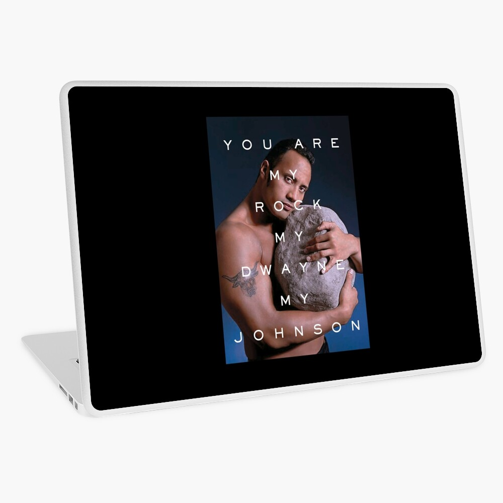 You Are My Rock Laptop Skin