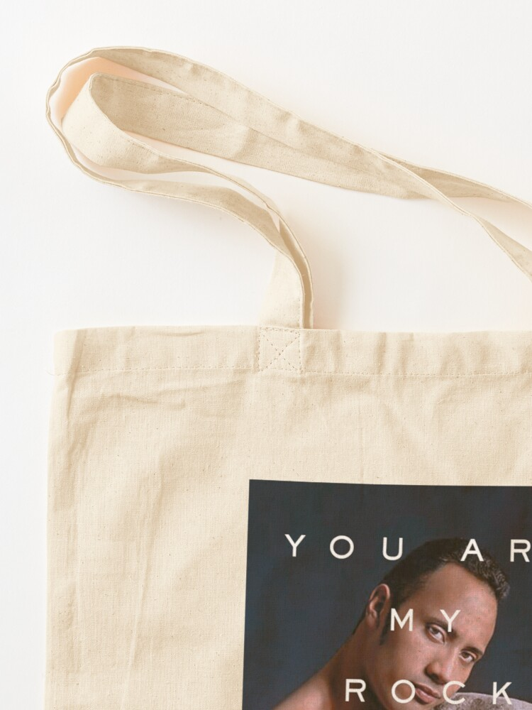 Alternate view of You Are My Rock Tote Bag