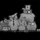 Owl gang by Matt Mawson
