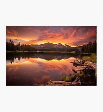 Sunset Serenity  Photographic Print