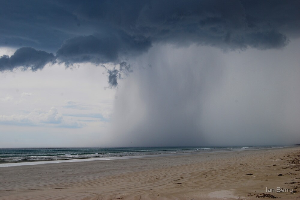 Storm approaching, Kingston, South East, South Australia by Ian Berry