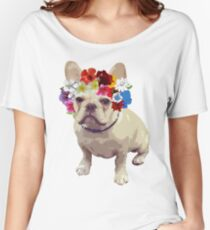 I Love Frenchies Women's Relaxed Fit T-Shirt