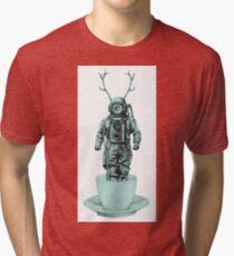 Deep Sea Crazy Surreal Tri-blend T-Shirt