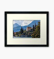 Chateau Framed Print