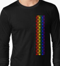 Pride Squares Vertical Long Sleeve T-Shirt