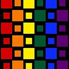 Pride Squares Vertical by technoqueer