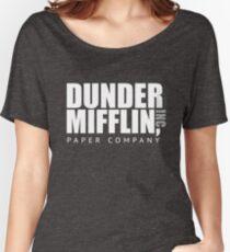 Dunder Mifflin Paper Notebook Women's Relaxed Fit T-Shirt