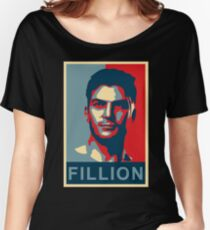 FILLION Women's Relaxed Fit T-Shirt