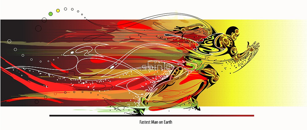 The Fastest Man on Earth by sbink