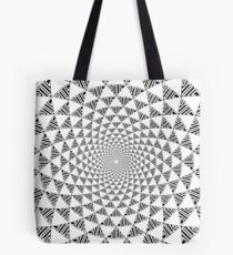Stoic Flower - Black & White Tote Bag