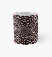 Stoic Flower - Red White Classic Mug