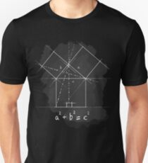 Pythagorean Theorem Unisex T-Shirt