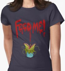 Feed Me (Little Audrey) Women's Fitted T-Shirt