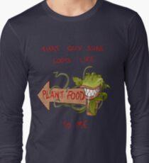 Plant Food Long Sleeve T-Shirt