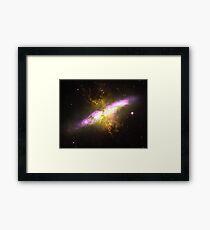 Messier Object 82 [Starburst Nebula] Framed Print