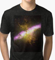 Messier Object 82 [Starburst Nebula] Tri-blend T-Shirt