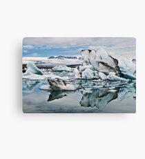 Jökulsarlon lagoon Canvas Print