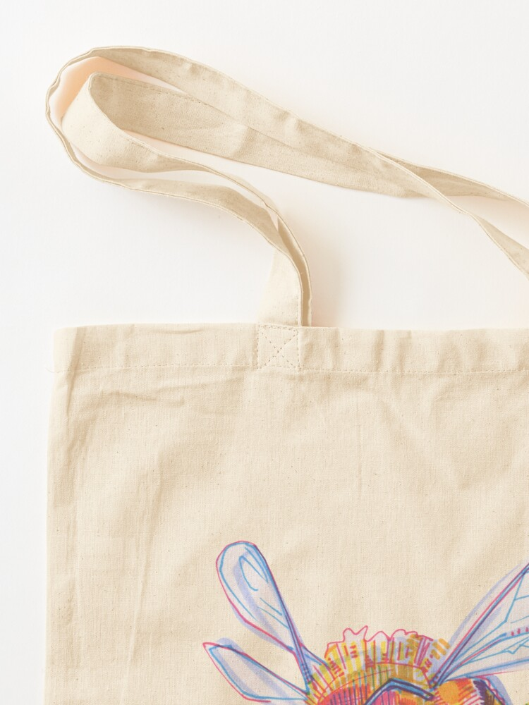 Alternate view of Bee drawing - 2013 Tote Bag