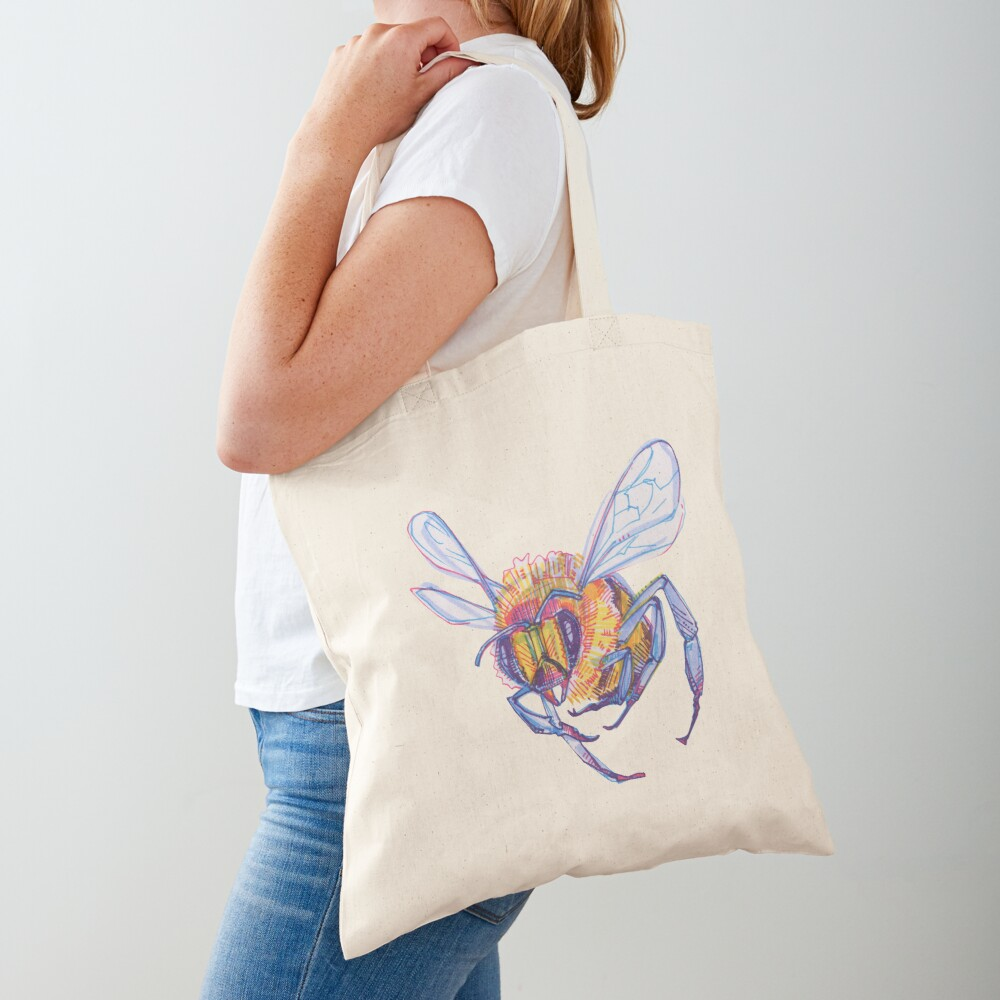 Bee drawing - 2013 Tote Bag