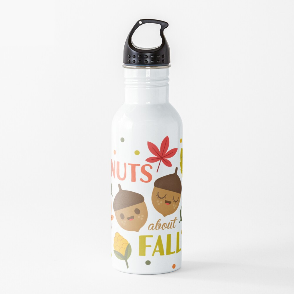 Nuts about Fall Water Bottle
