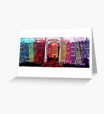 Amsterdam, the Amstel Greeting Card
