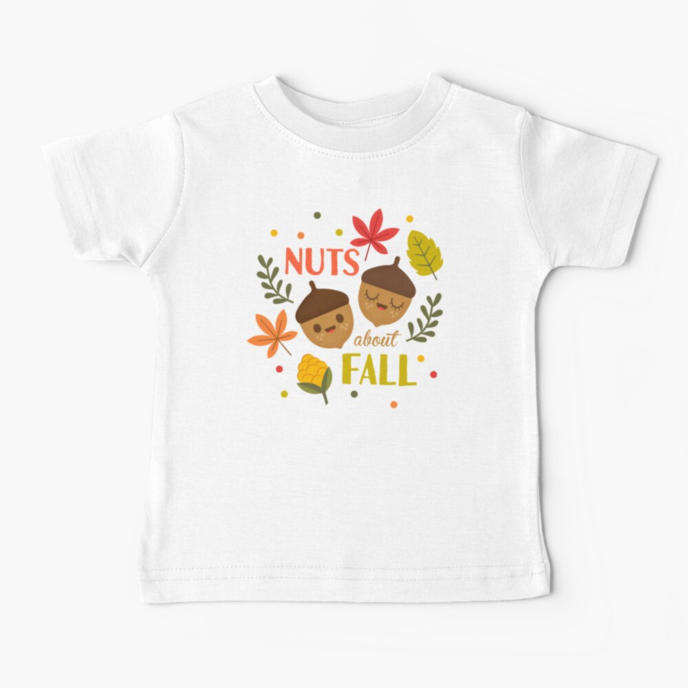 Nuts about Fall Baby T-Shirt