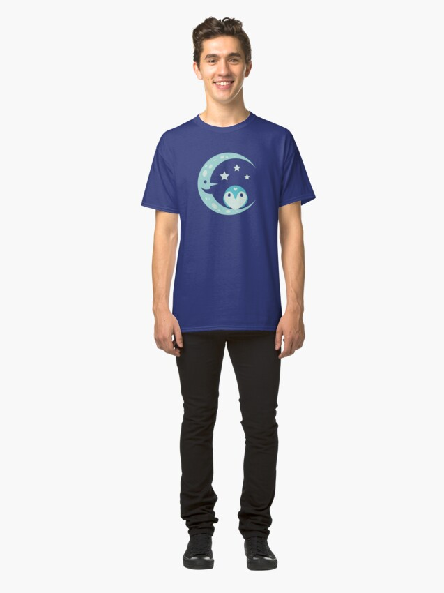 Alternate view of The Owl and the Moon Classic T-Shirt