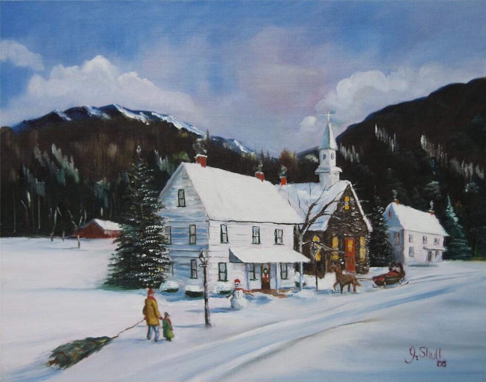 """ I'll Be Home for Christmas"" by John Shull"