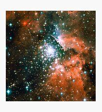 Kid Cudi Galaxy | Star Forming Region [NGC-3603] Photographic Print