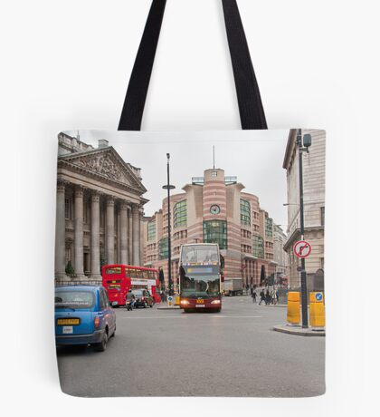 Modern and Old Together Mingled Tote Bag