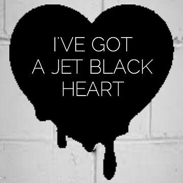 Jet Black Heart by nschweitzer