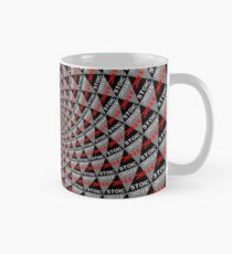 Stoic Flower - Red Grey Classic Mug