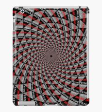 Stoic Flower - Red Grey iPad Case/Skin