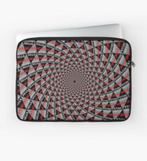 Stoic Flower - Red Grey Laptop Sleeve
