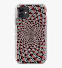 Stoic Flower - Red Grey iPhone Case