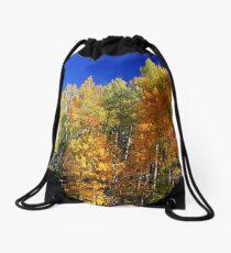 Fall Aspens Drawstring Bag