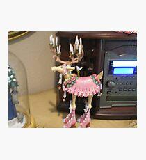 Dancing reindeer Photographic Print