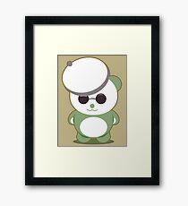 French Panda Framed Print