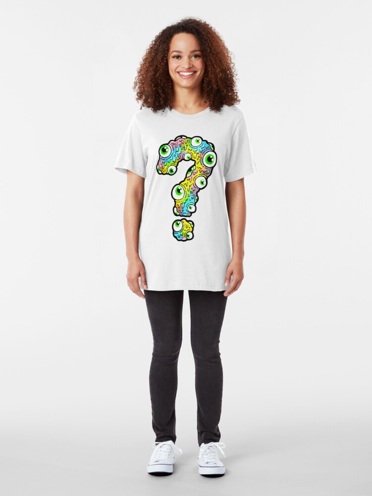 Alternate view of What Are You Looking At? Slim Fit T-Shirt