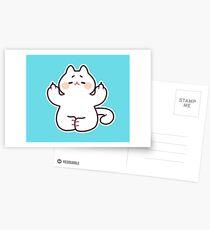 "Meditating ""F**K YOU"" Cat Postcards"