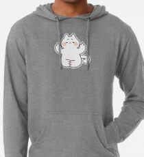 "Meditating ""F**K YOU"" Cat Lightweight Hoodie"