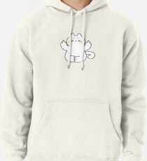 """Meditating """"F**K YOU"""" Cat Pullover Hoodie"""