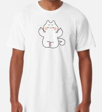 "Meditating ""F**K YOU"" Cat Long T-Shirt"