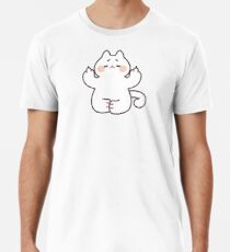 "Meditating ""F**K YOU"" Cat Premium T-Shirt"