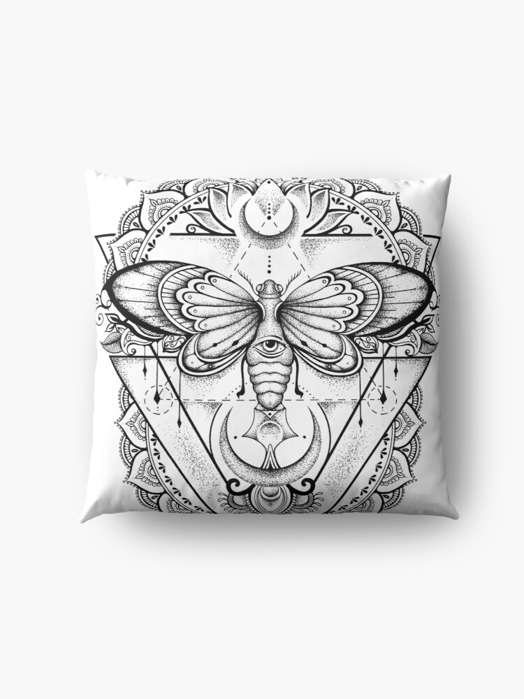 Alternate view of Fly With Me ! Floor Pillow