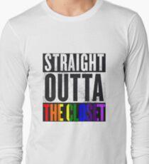 Straight Outta The Closet Long Sleeve T-Shirt